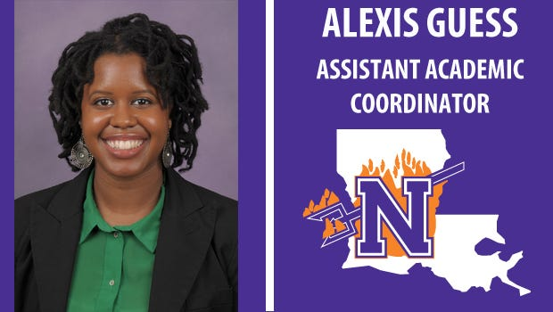 Alexis Guess has been hired as the new Assistant Academic Coordinator at NSU.