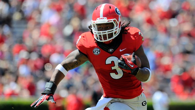 Todd Gurley is a preseason USA TODAY Sports All-American at running back.