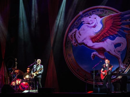 The Steve Miller Band performed one classic after another