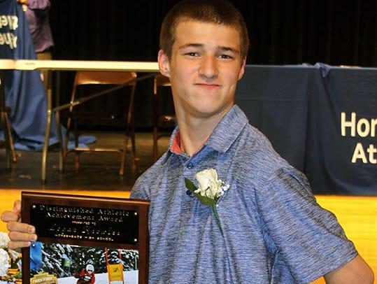 Logan Knowles, a Nastar national ski champion in his division, won a special award.