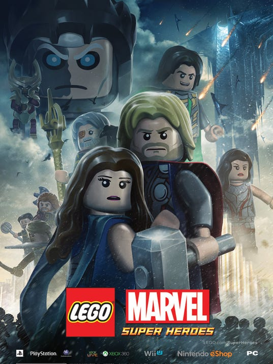 Lego Super Heroes Thor Poster