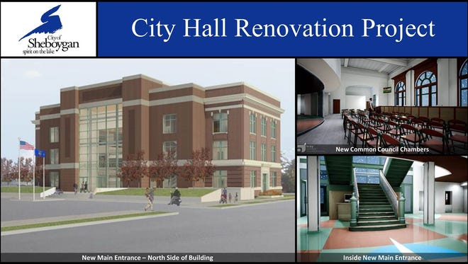 Sheboygan Common Council voted to renovate functionality of City Hall | View from City Hall