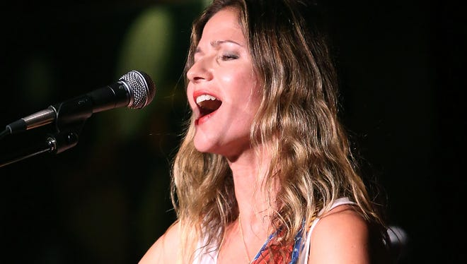 Jill Hennessy at the Cutting Room on October 5, 2015 in New York City.