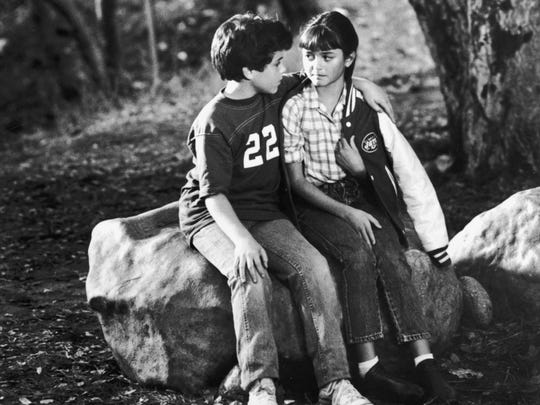 Fred Savage and Danica McKellar from 'The Wonder Years.'