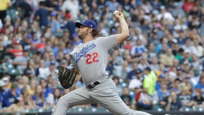 Clayton Kershaw went into Friday's start with a 7-2 record and 2.37 ERA.