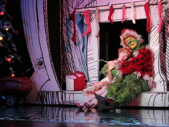 "A scene from ""Dr. Seuss' How the Grinch Stole Christmas!"