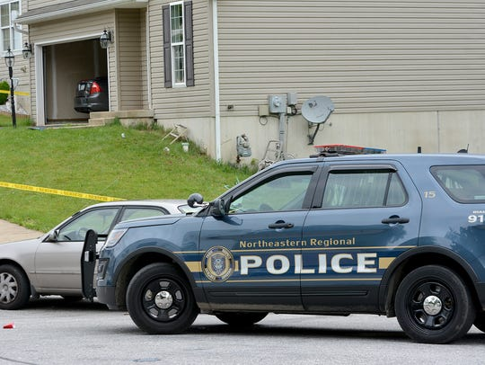 Northeastern Regional Police investigate an early-morning