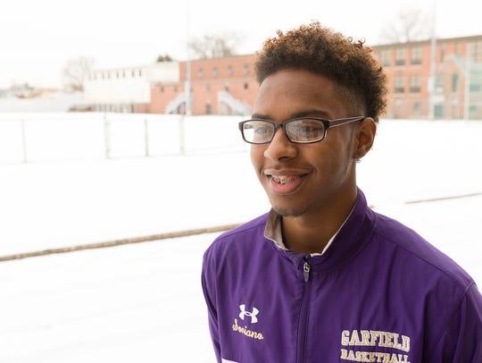 Garfield High School athlete Amerlin Soriano says histeammates