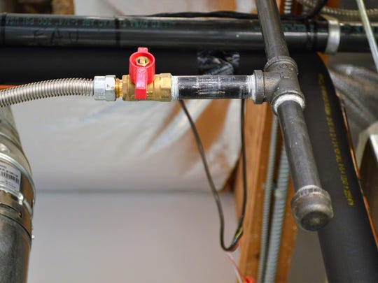 Gas lines must be installed correctly and have drip legs.