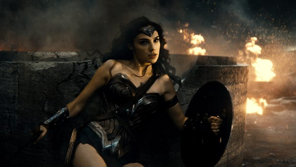 Wonder Woman (Gal Gadot) is on a recruitment drive
