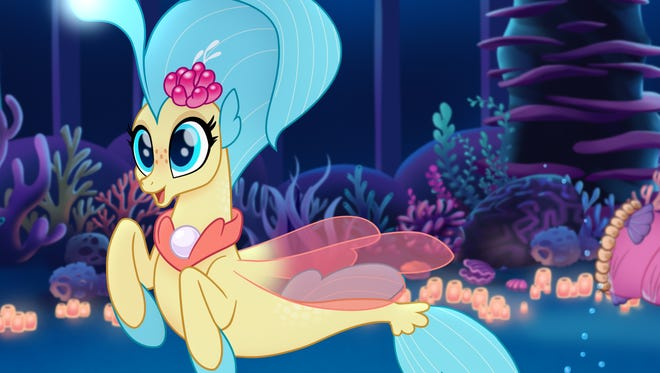 "Princess Skystar is one of the stars of ""My Little Pony: The Movie."""
