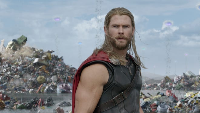 "Chris Hemsworth stars in ""Thor: Ragnarok."""