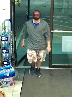 State police are looking for two men in connection to a robbery which occurred at a gas station in Greene Township at about 9:30 p.m. on Sept. 26.