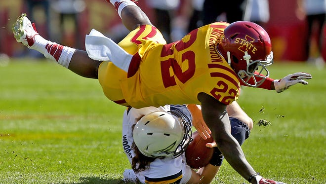 Iowa State starting safety T.J. Mutcherson had been kicked off the team following an in-season violation of team rules, the Cyclones' football program announced Friday in a news release.