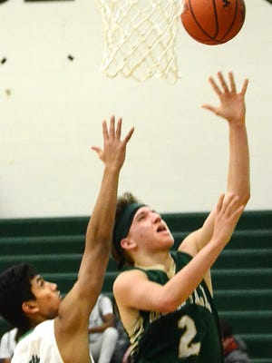 Howell's Josh Palo scored 24 points in a 70-55 victory over Novi on Friday, Dec. 15, 2017.