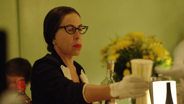 Mamacita (Jackie Hoffman) is there to serve Joan Crawford's
