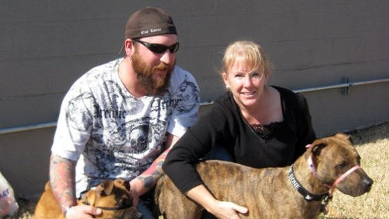 The fateful day when J.D. and Lisa Sagley adopted Atilla the Dog into their family and soon became volunteers with The Humane Society of Dover-Stewart County.
