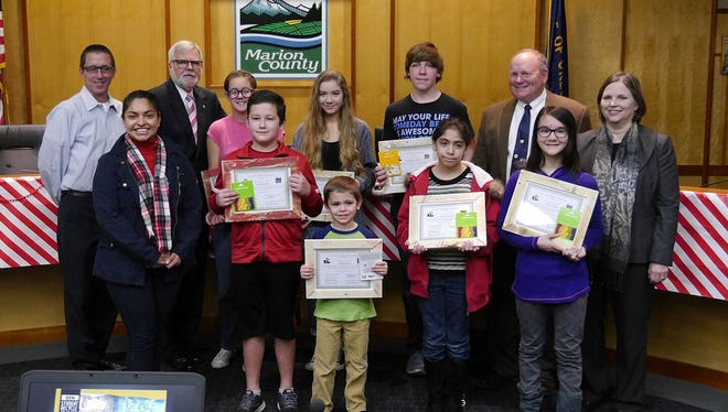 Students honored in art calendar contest in Dec. 2015