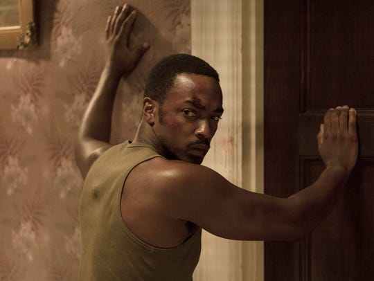 """Anthony Mackie in """"Detroit."""""""