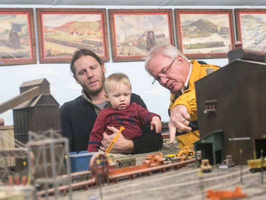 Miniature Railroad Club of York Open House