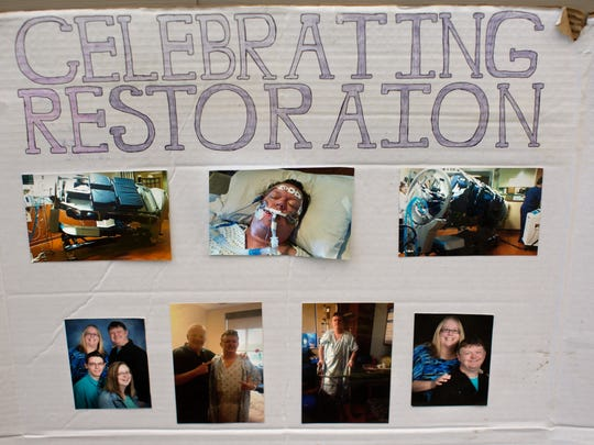 Ron Ward created this board to help others battling addiction, HIV, and mental health disorders. He founded a non-profit called 'Celebrating Restoration', now called 'Restoration United: A fight against addiction'.