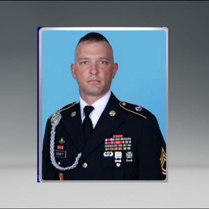 Sgt. 1st Class Matthew I. Leggett died while in Afghanistan. He was a paratrooper from Fort Bragg