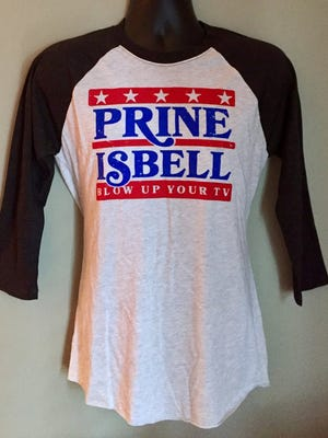 John Prine's Oh Boy Records is selling this shirt, promoting a Prine/Jason Isbell ticket.