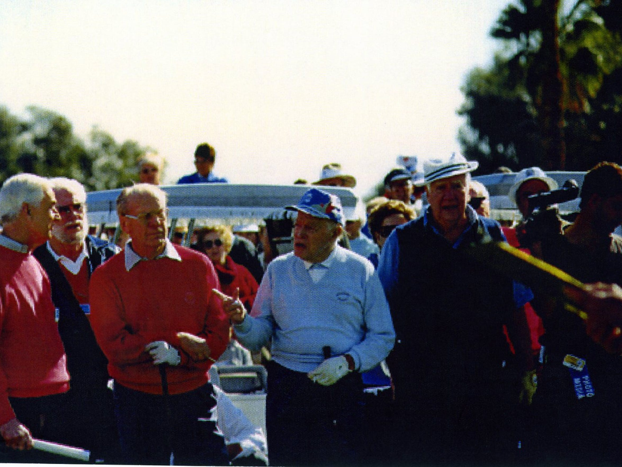 President Gerald Ford, Bob Hope, Tip O'Neill at the