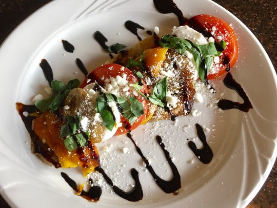 At La Famiglia, a cool-weather take on Caprese features