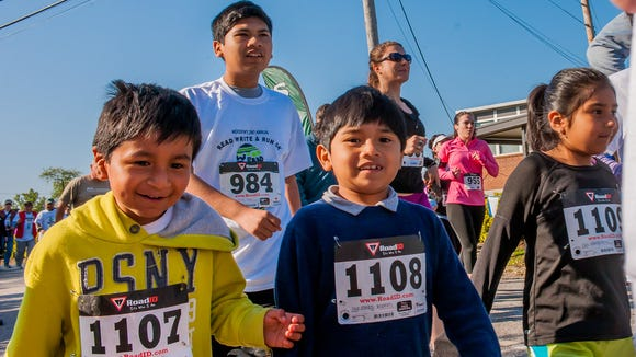 The Woodfin Elementary School Read, wRite, and Run 5K is one of many footraces across WNC this weekend.