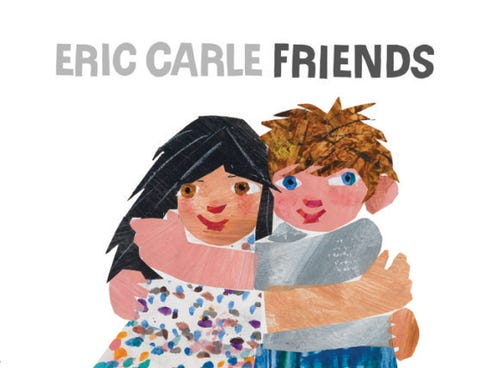 Eric Carle is back with a story of 'Friends' inspired by his past.