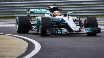 New rules are making for faster racing by F1 cars, such as the Mercedes-AMG Petronas Motorsport team.