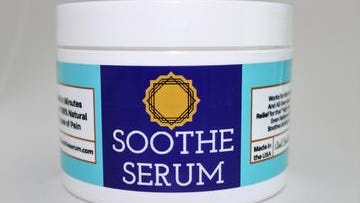 Soothe Serum is a natural pain reliever that can help golfers deal with aches and pains from playing