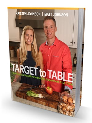 Target to Table cookbook was written by twin siblings Kristen and Matt Johnson