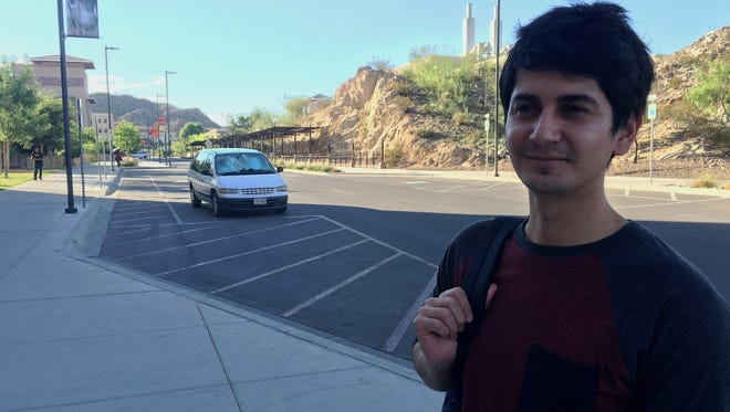 University of Texas at El Paso graduate student Cesar Valle, 24, says he is not worried about the campus carry law going into effect.