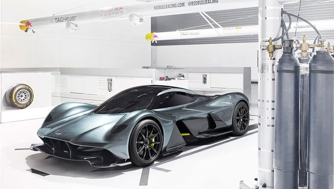 """Aston Martin has teamed up with Red Bull Racing to develop the AM-RB 001 """"hypercar."""""""