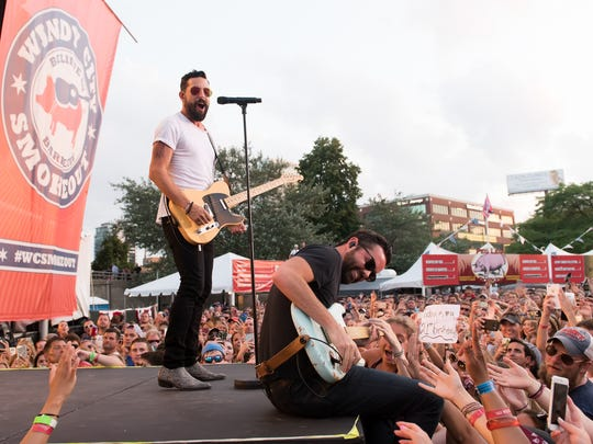 Country act Old Dominion will be the first act at the new concert venue at Hudson Fields near Milton on June 1.