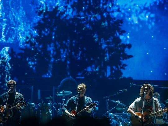 The Eagles perform on Friday, Oct. 27, 2017 at the