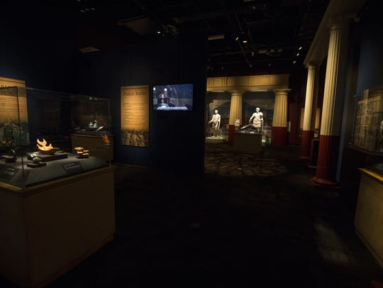 """Pompeii: The Exhibition"" is shown at the Arizona Science"