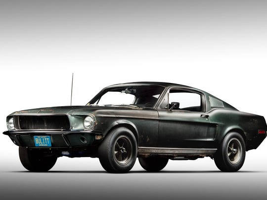 The original 1968 Ford Mustang Fastback from the movie Bullitt.