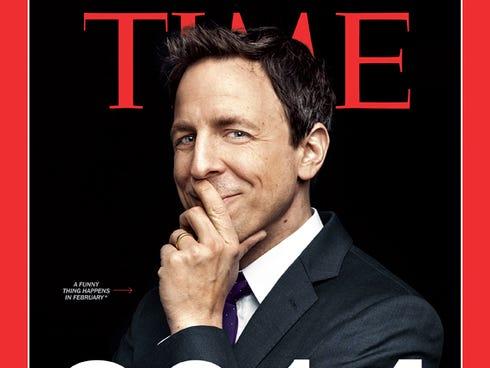 1388760089000 TIME Cover   Seth Meyers  Seth Meyers