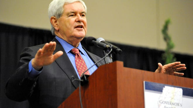 Former Speaker of the House Newt Gingrich expressed cautionary thoughts on Donald Trump this week.