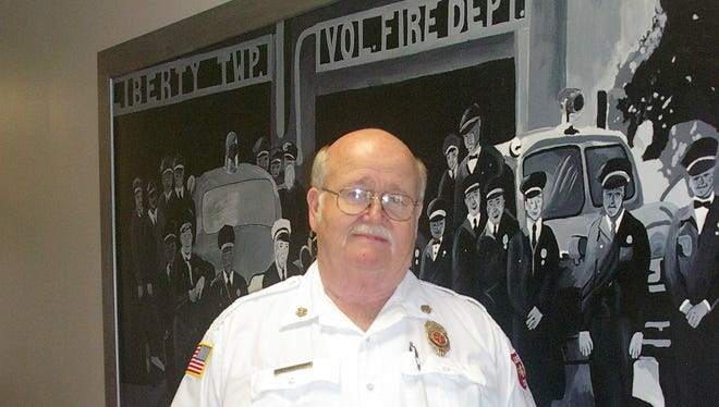 Liberty Township Fire Chief Paul Stumpf retires Friday after 45 years of  service, the last 32 as chief.