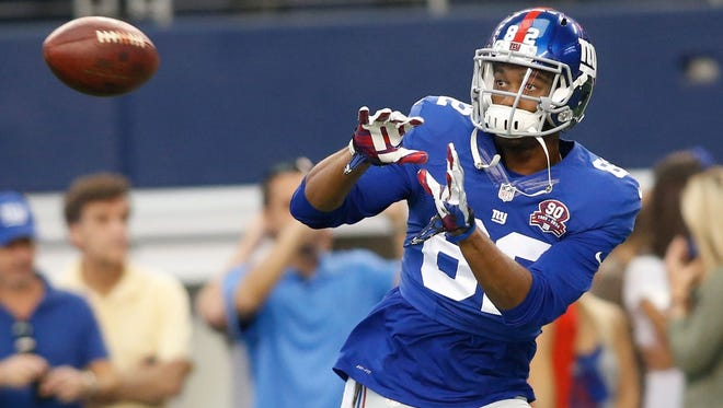 Former Giants wide receiver Rueben Randle signed a one-year contract with the Eagles on Wednesday.