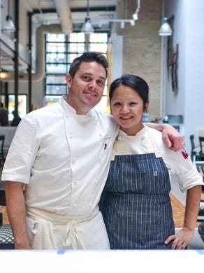 Chef and owner Gavin Kaysen and executive pastry chef Diane Yang are part of the team that makes it happen.