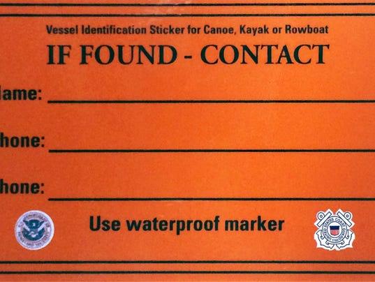 Orange Coast Guard Sticker