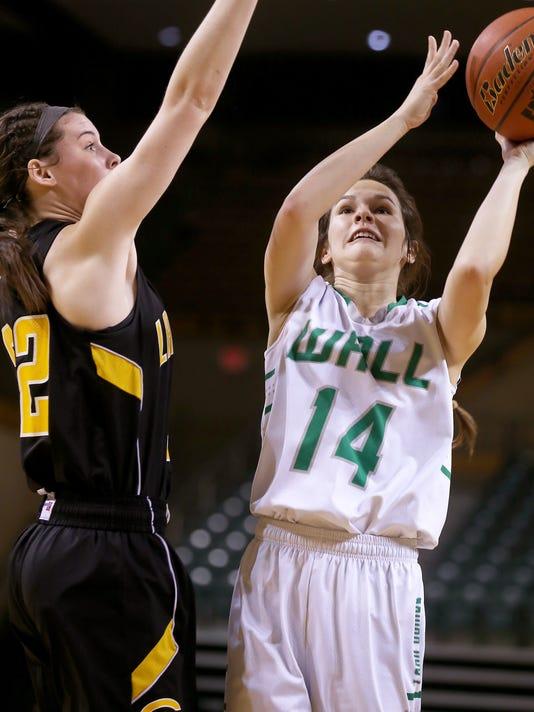 Girls' High School Basketball: Wall vs. Canadian, 02-25-17