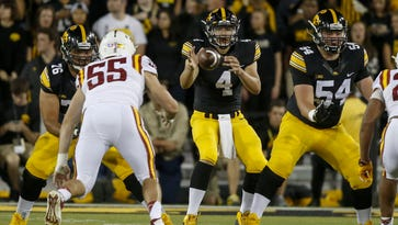 Iowa takeaways: A new name at wide receiver, a simplified offense