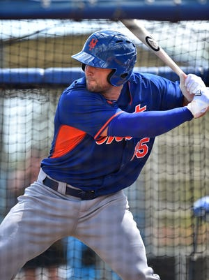 Tim Tebow hit his first home run – albeit a batting practice shot.