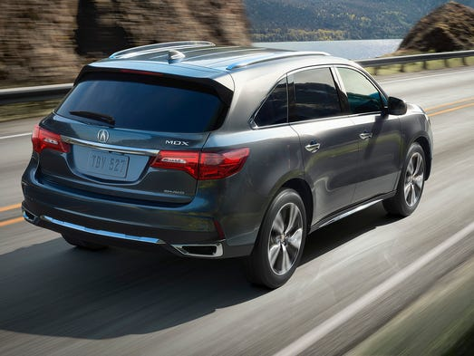 Acura has made some changes in the 2017 MDX, seen here